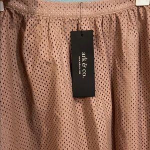Ark & Co Skirts - Ark & Co. perforated skirt